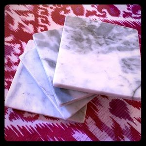 Other - Set of 4 grey marble coasters